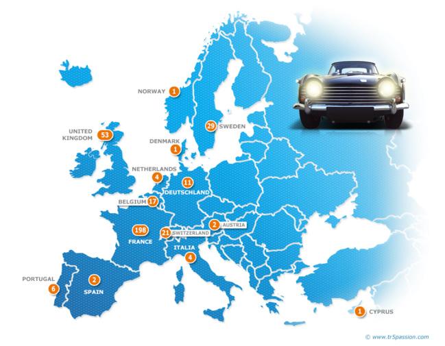 Europe map / Carte d'europe