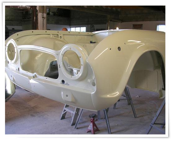 L'art de la carrosserie...