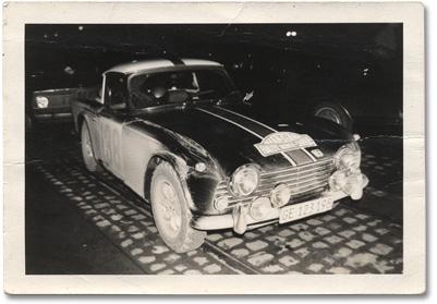 Thuner et Gretener au Monte Carlo 1968.